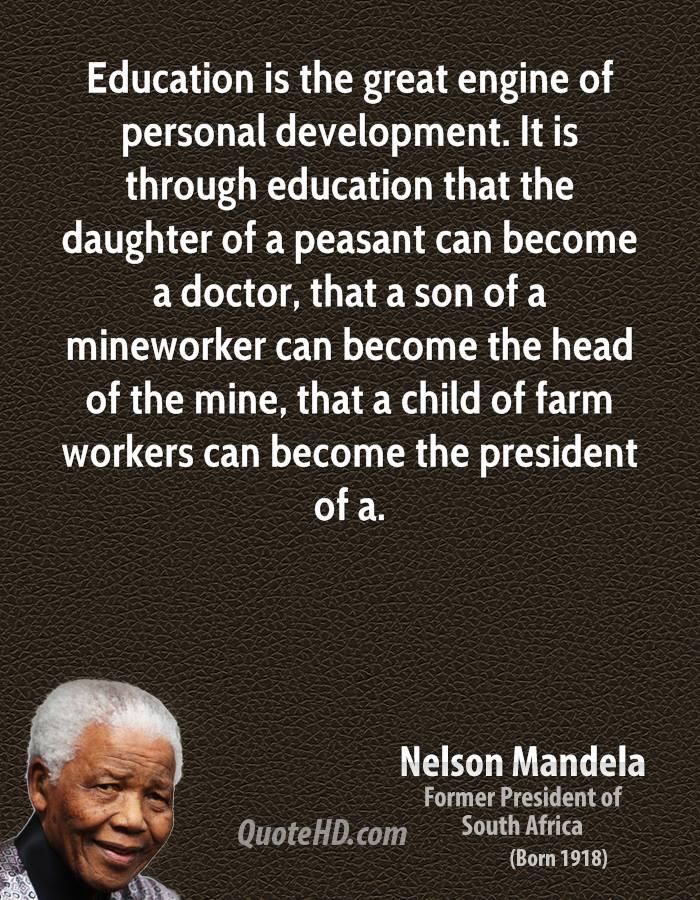 Nelson Mandela Quotes About Education  Nelson Mandella Quotes Teamwork QuotesGram
