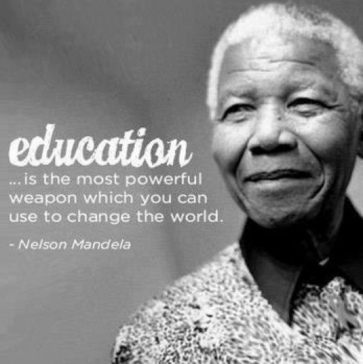Nelson Mandela Quotes About Education  Nelson Mandela Education Quotes QuotesGram