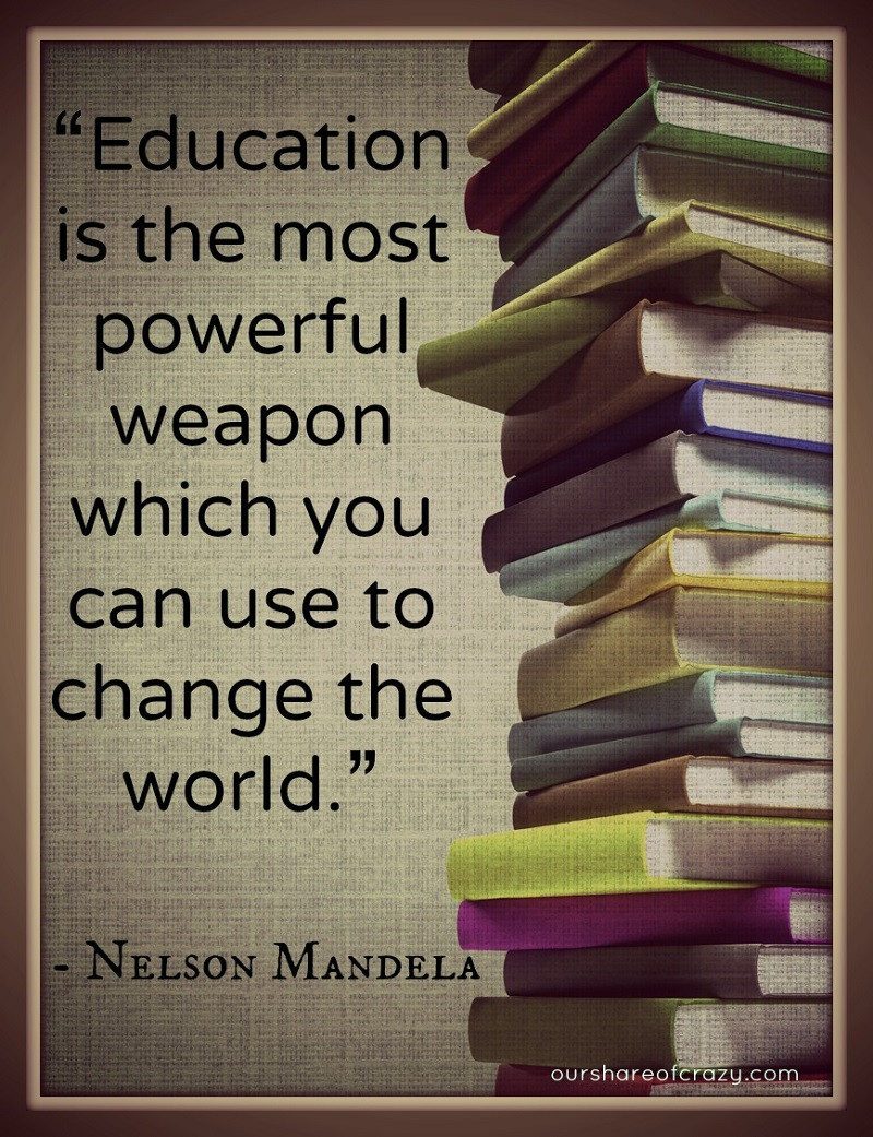 Nelson Mandela Quotes On Education  Nelson Mandela s Quotes and Sayings An Inspirational
