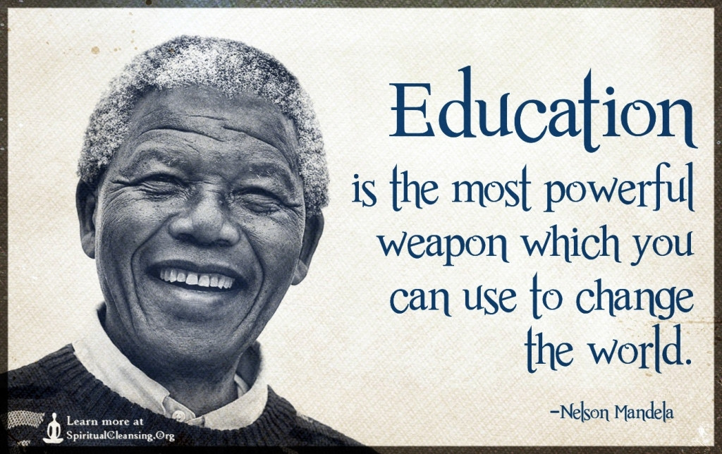 Nelson Mandela Quotes On Education  Energy in field for early childhood education in NM