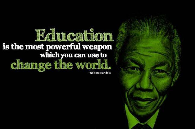 Nelson Mandela Quotes On Education  EDUCATION QUOTES NELSON MANDELA image quotes at relatably