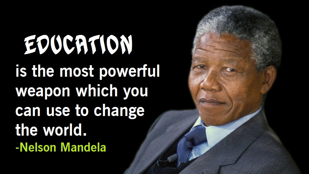 Nelson Mandela Quotes On Education  Nelson Mandela Quotes on Education Youth Leadership & Love