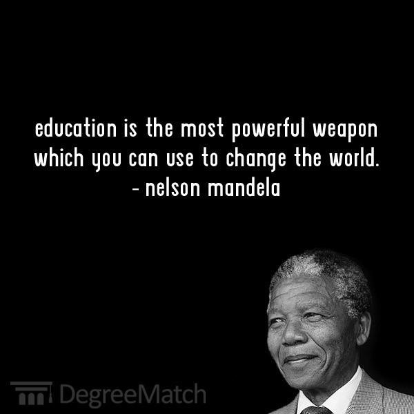 Nelson Mandela Quotes On Education  Nelson mandela quotes sayings wise wisdom education