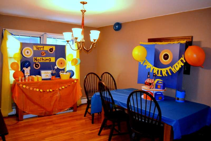 Nerf Birthday Party Decorations  Nerf Birthday Party Ideas 4 of 62
