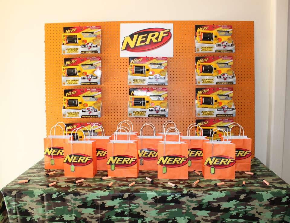 """Nerf Birthday Party Decorations  Nerf Birthday """"Nerf War Party"""""""