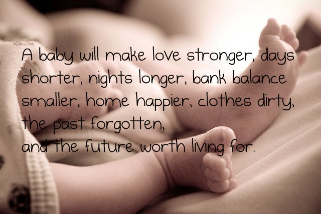 New Mother Quotes On New Baby  Baby Picture Quotes