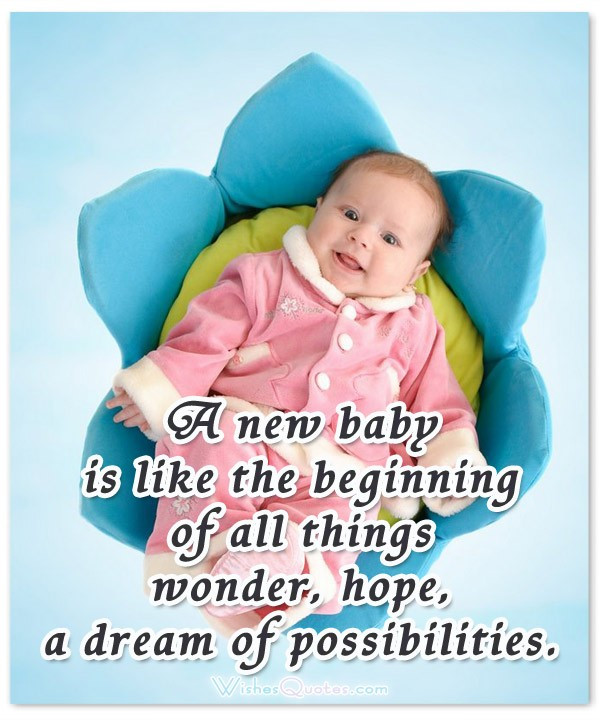 New Mother Quotes On New Baby  Newborn Baby Wishes Quotes QuotesGram