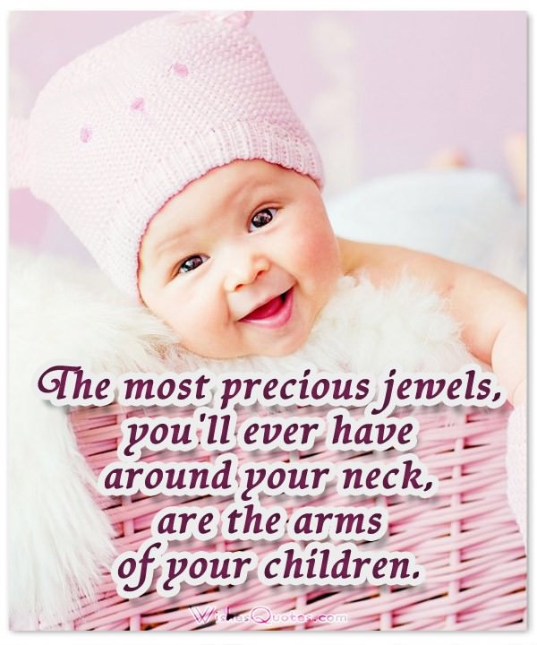 New Mother Quotes On New Baby  50 of the Most Adorable Newborn Baby Quotes – WishesQuotes