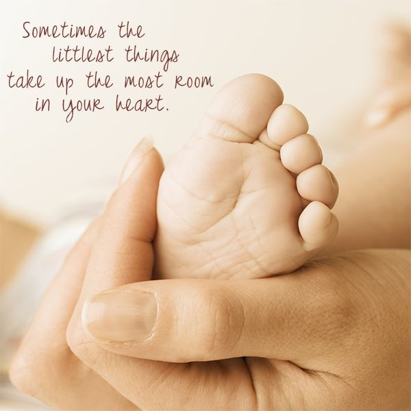 New Mother Quotes On New Baby  little things great job quote baby quote