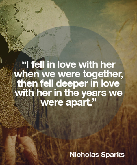Nicholas Sparks Marriage Quotes  NICHOLAS SPARKS QUOTES ON MARRIAGE image quotes at