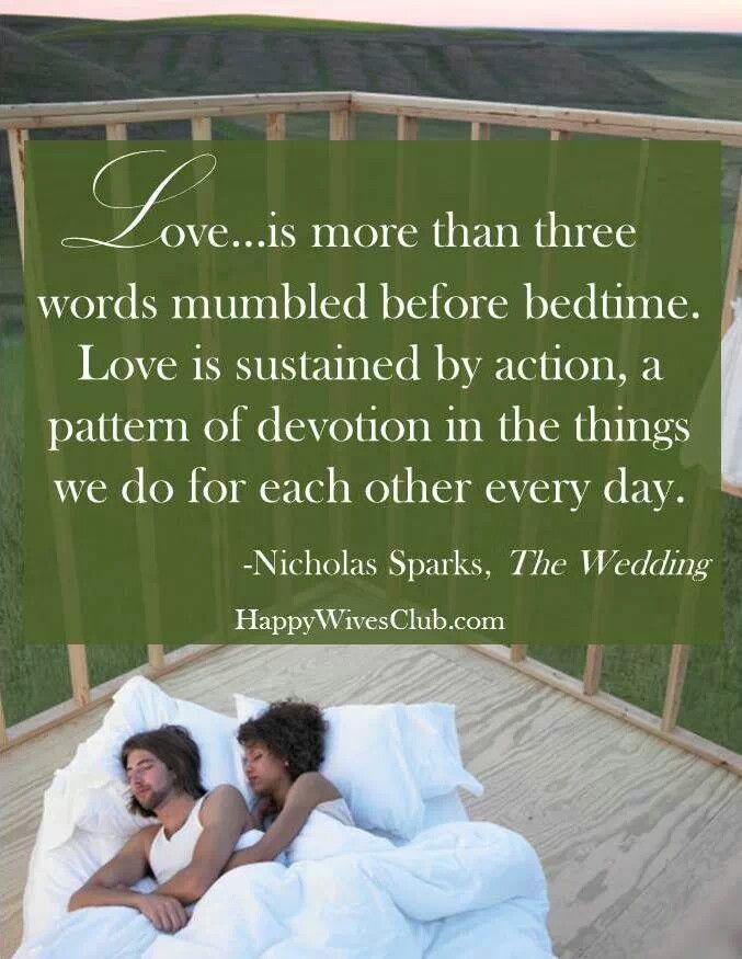Nicholas Sparks Marriage Quotes  Best 25 The wedding nicholas sparks ideas on Pinterest
