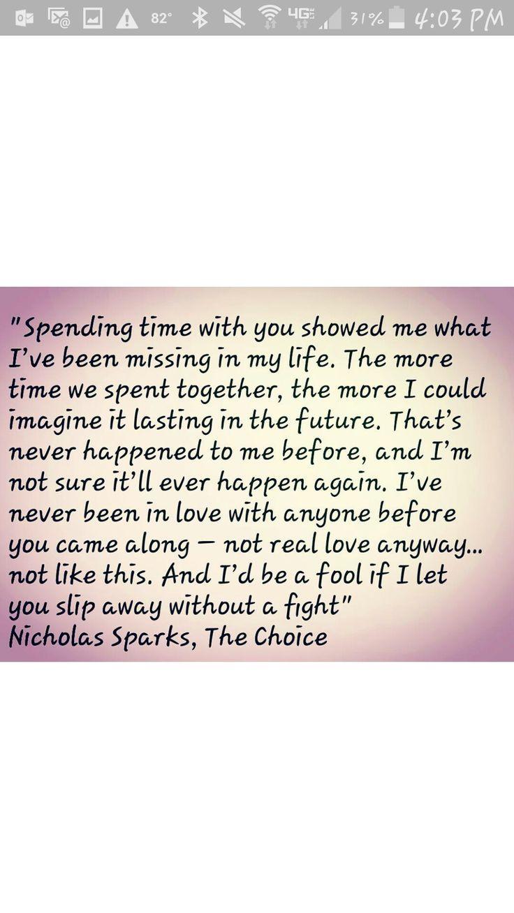 Nicholas Sparks Marriage Quotes  25 Best Ideas about Nicholas Sparks Quotes on Pinterest