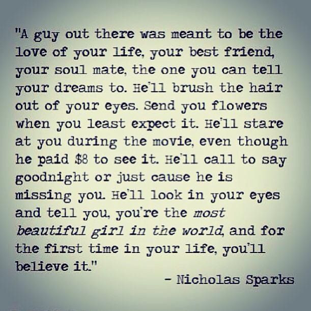 Nicholas Sparks Marriage Quotes  The Wedding Nicholas Sparks Quotes QuotesGram