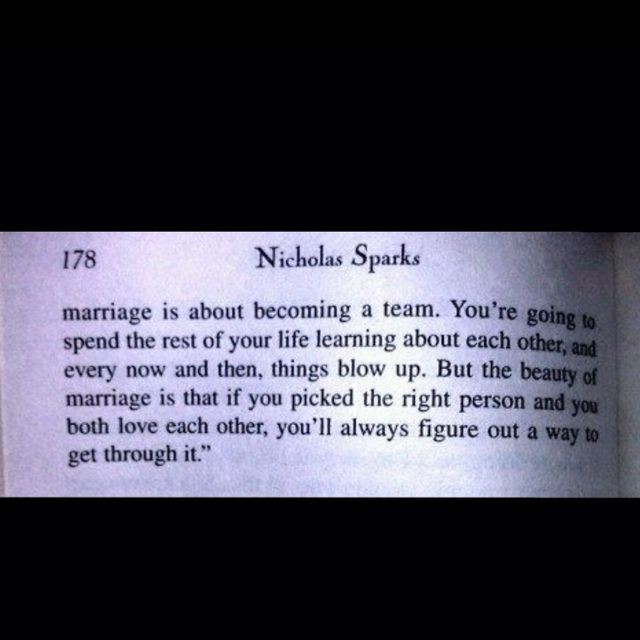 Nicholas Sparks Marriage Quotes  Marriage quote by Nicholas Sparks