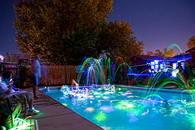 Night Pool Party Ideas For Adults  Glowing Pool Party with Glow Sticks – ActiveDark