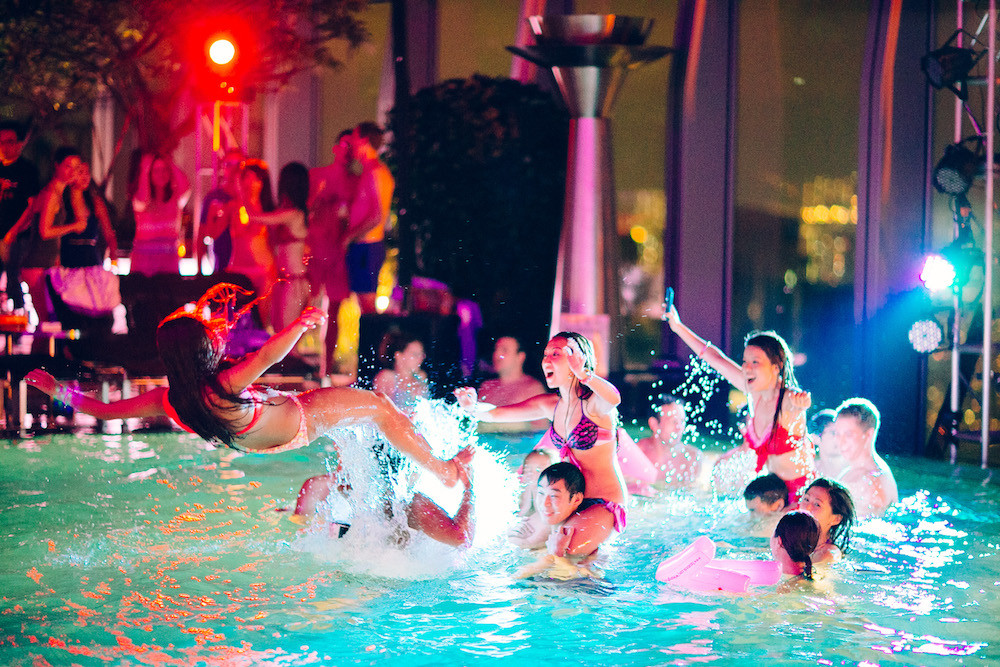 Night Pool Party Ideas For Adults  Summer Wonderland Brings You a Debauched All Night Pool