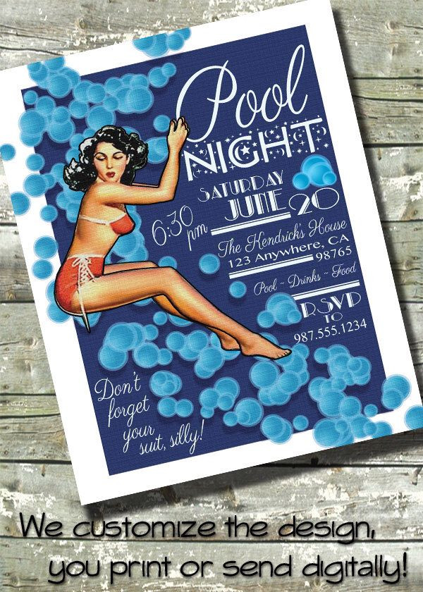 Night Pool Party Ideas For Adults  1000 ideas about Adult Pool Parties on Pinterest