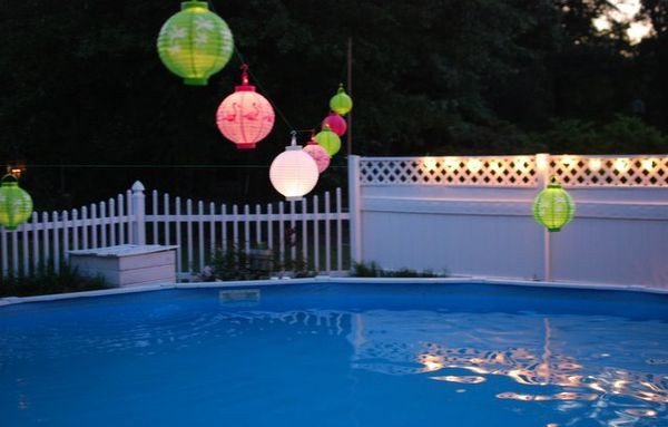 Night Pool Party Ideas For Adults  pool party decoration ideas for adults