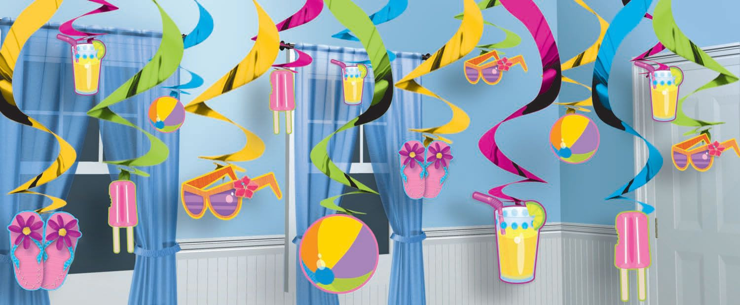 Office Party Ideas For Summer  pool birthday party theme decorations for girls Google