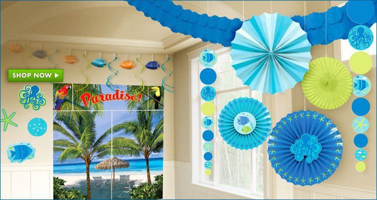 Office Party Ideas For Summer  Summer Party Decorations