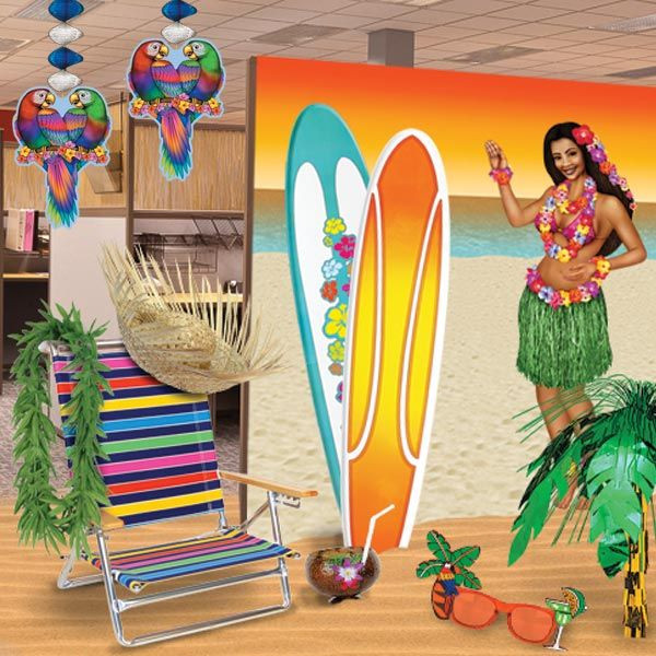 Office Party Ideas For Summer  How To Turn Your fice Party into a Luau Paradise