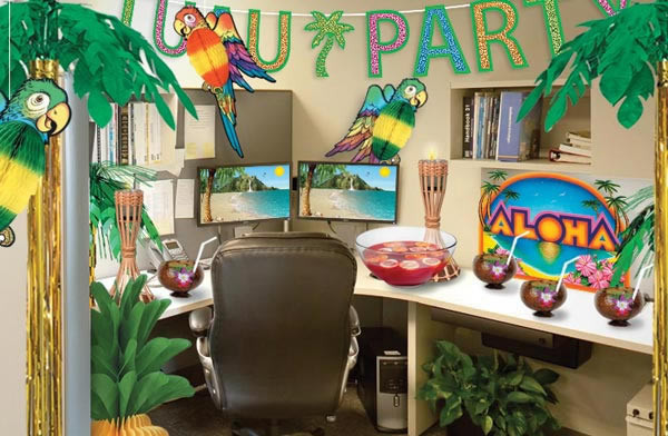 Office Party Ideas For Summer  Pinterest fice Cubicle Decor