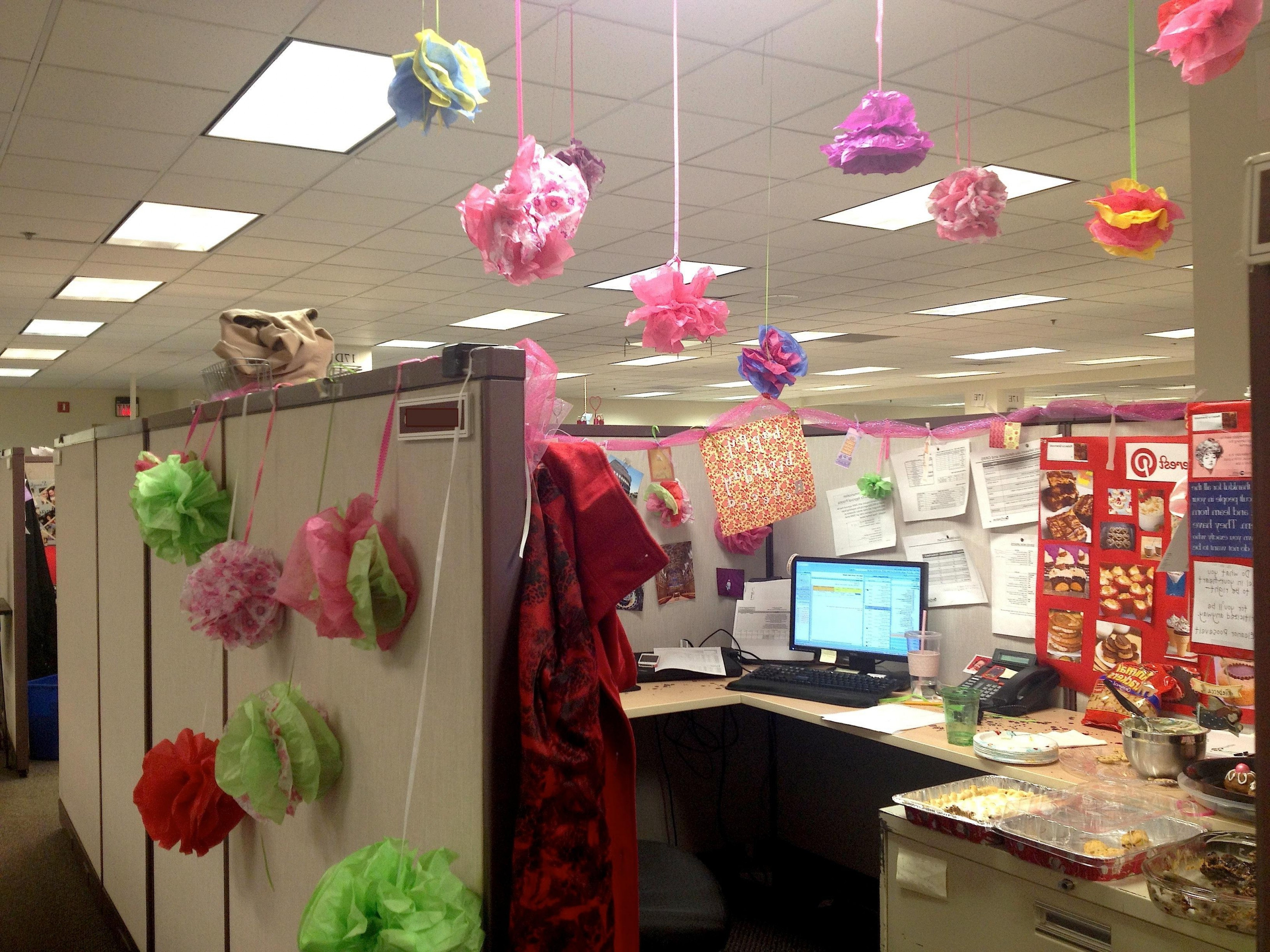 Office Party Ideas For Summer  Medium Image For Wonderful fice Birthday Decorations My