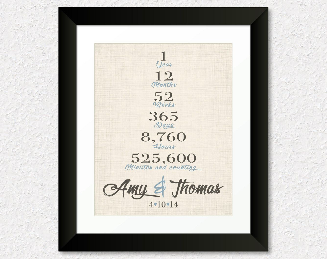 One Year Anniversary Gift Ideas For Girlfriend  First Year Anniversary Gifts e Year Wedding Anniversary