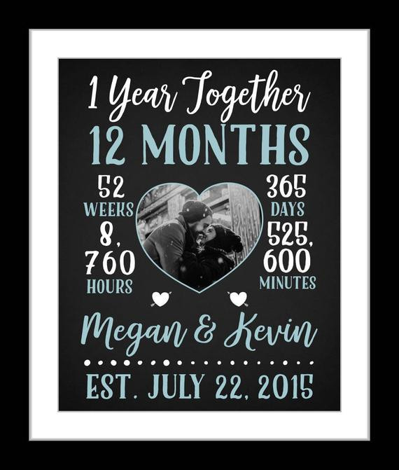 One Year Anniversary Gift Ideas For Girlfriend  1 Boyfriend anniversary t boyfriend one year anniversary