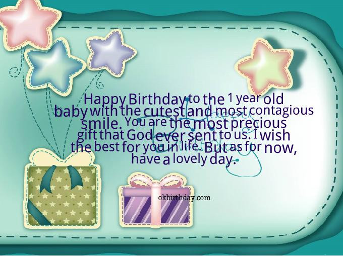 One Year Old Birthday Quotes  12 Year Old Birthday Quotes QuotesGram