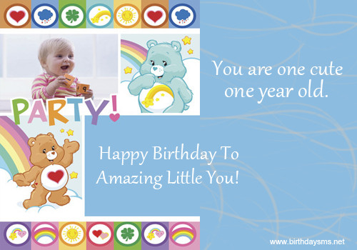 One Year Old Birthday Quotes  Baby Birthday Wishes Quotes QuotesGram