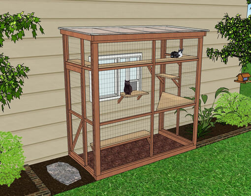 Outdoor Cat Enclosure DIY  How to Build a Catio A Firsthand Account The Conscious Cat