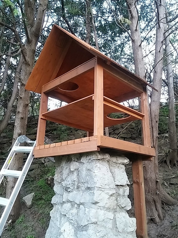 Outdoor Cat Enclosure DIY  Another awesome outdoor cat enclosure Cuckoo4Design