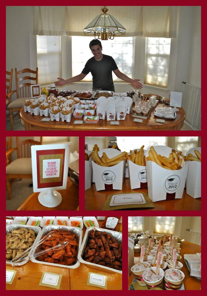 Outdoor Graduation Party Food Ideas  Graduation Parties