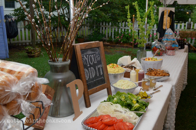 Outdoor Graduation Party Food Ideas  No 1 Son s Graduation Party A Night to Remember