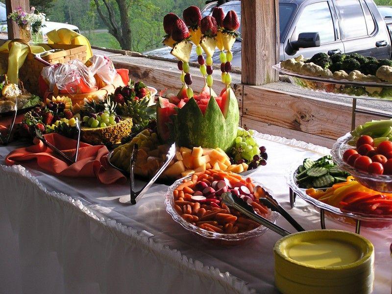 Outdoor Graduation Party Food Ideas  menu for luau theme party