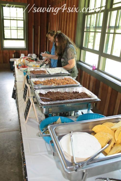 Outdoor Graduation Party Food Ideas  More Graduation Party Ideas