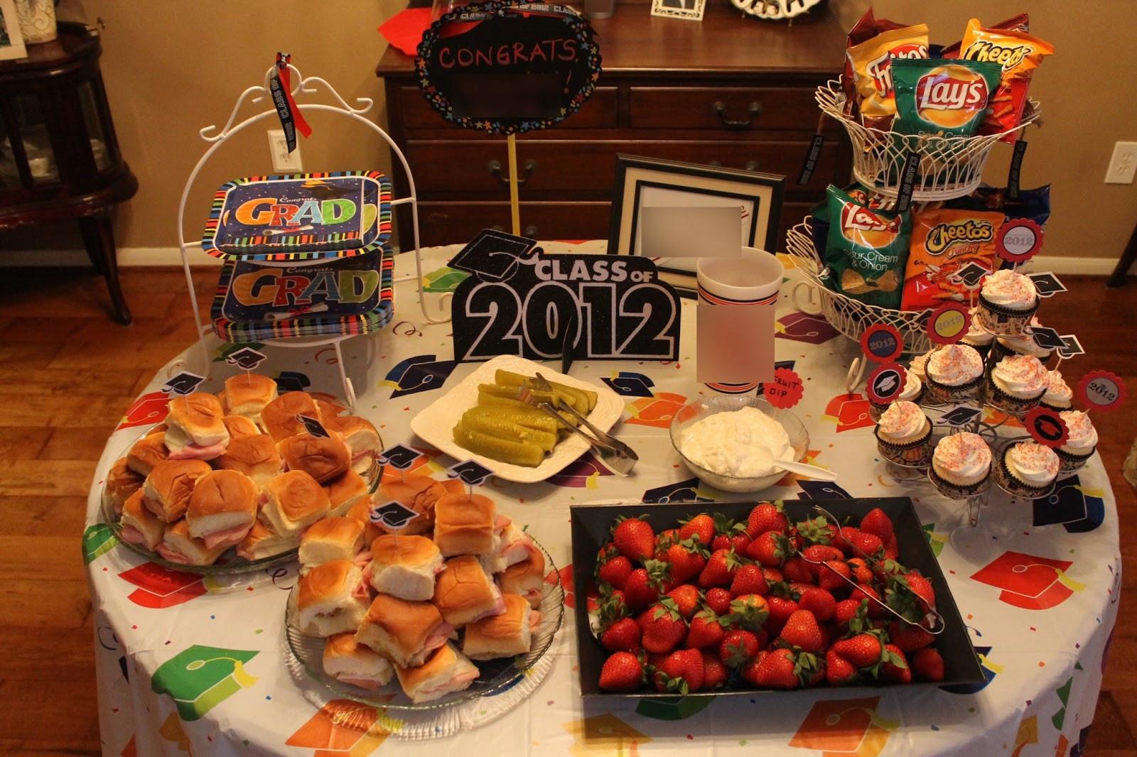 Outdoor Graduation Party Food Ideas  Texas Decor Graduation Party Gift Ideas