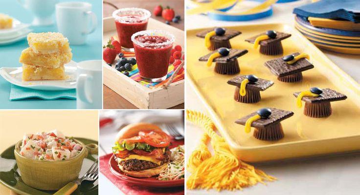 Outdoor Graduation Party Food Ideas  graduation Graduation Party Ideas Pinterest