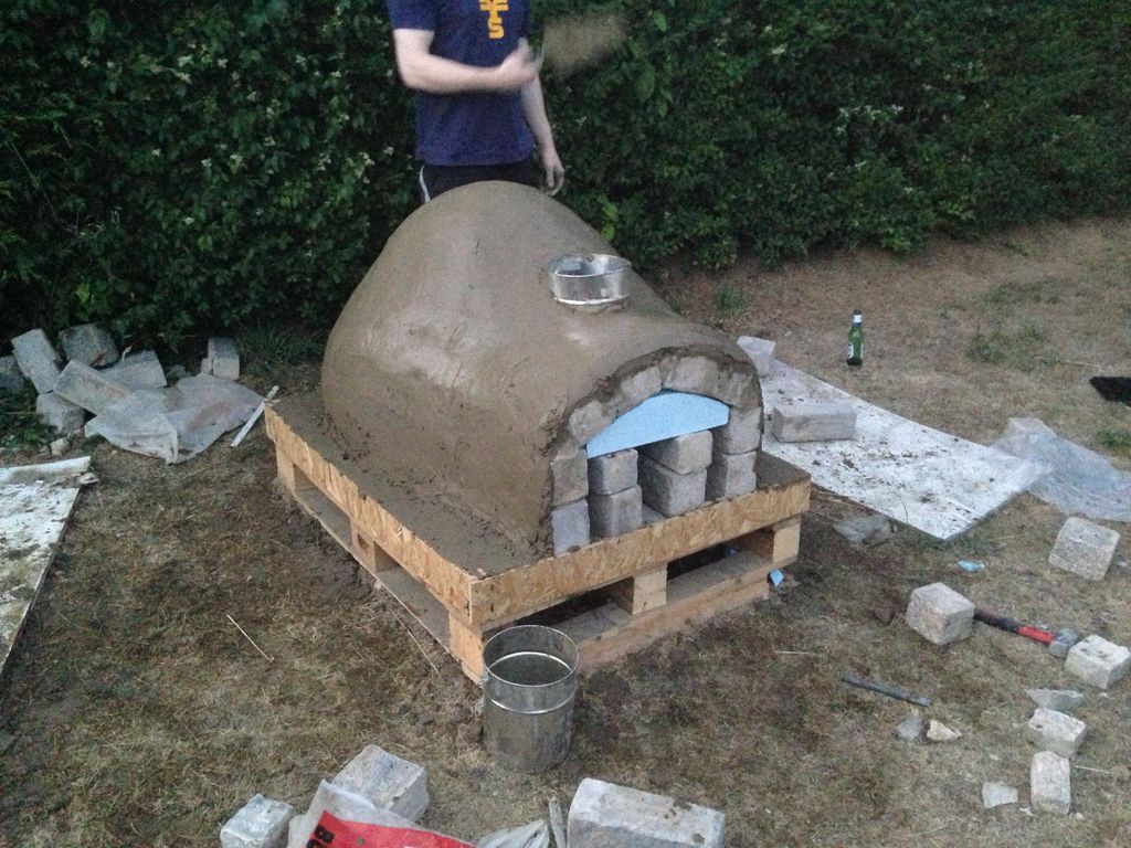 Outdoor Pizza Oven DIY  DIY Outdoor Project Pizza Oven iCreatived