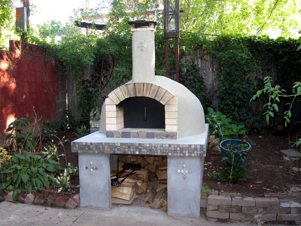 Outdoor Pizza Oven DIY  How To Build a Wood Fired Pizza Oven In Your Backyard