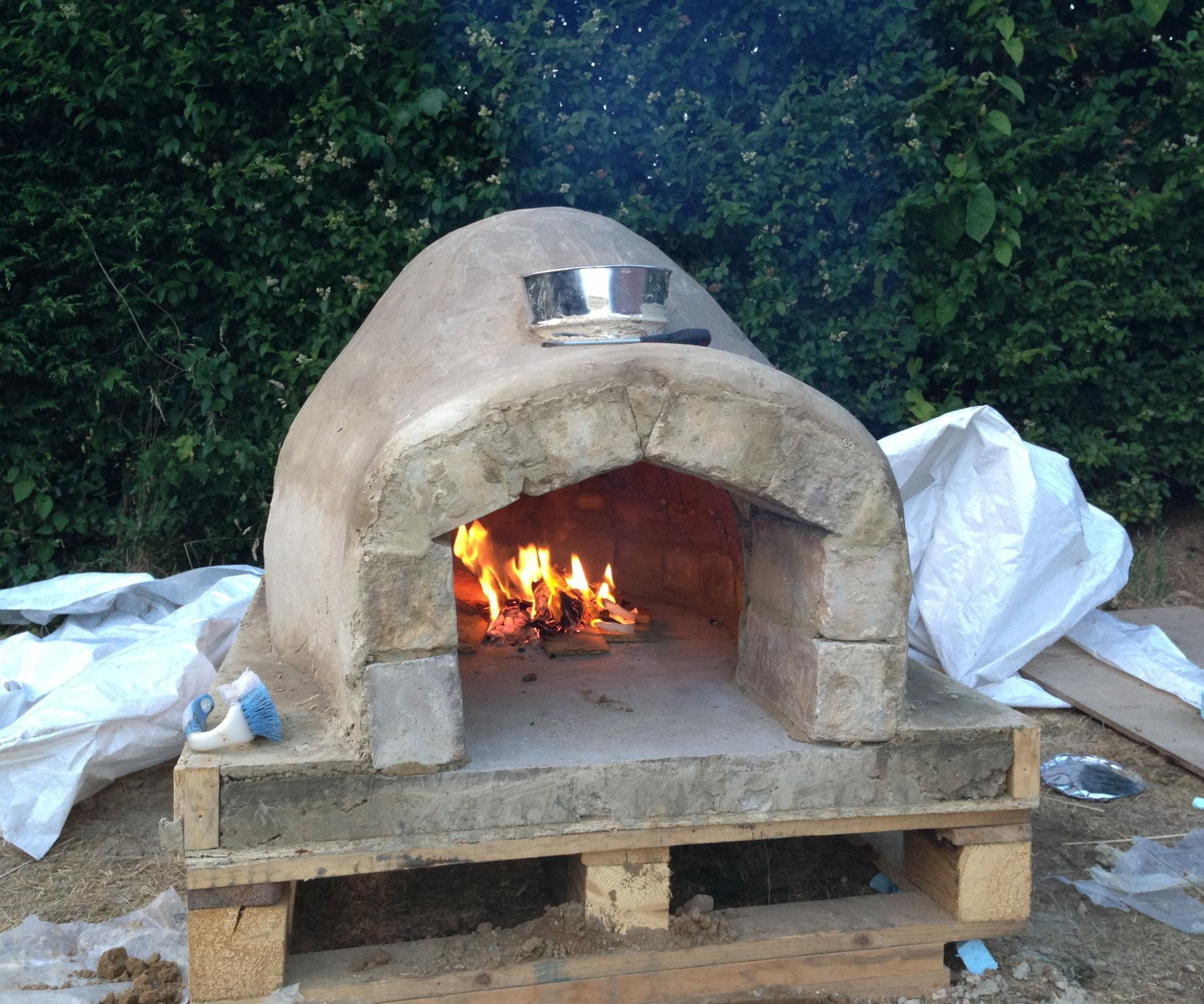 Outdoor Pizza Oven DIY  How to Make a Homemade Pizza Oven gardening
