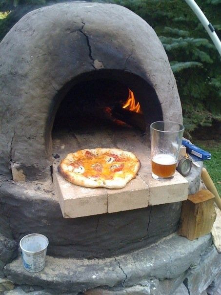 Outdoor Pizza Oven DIY  Pinterest