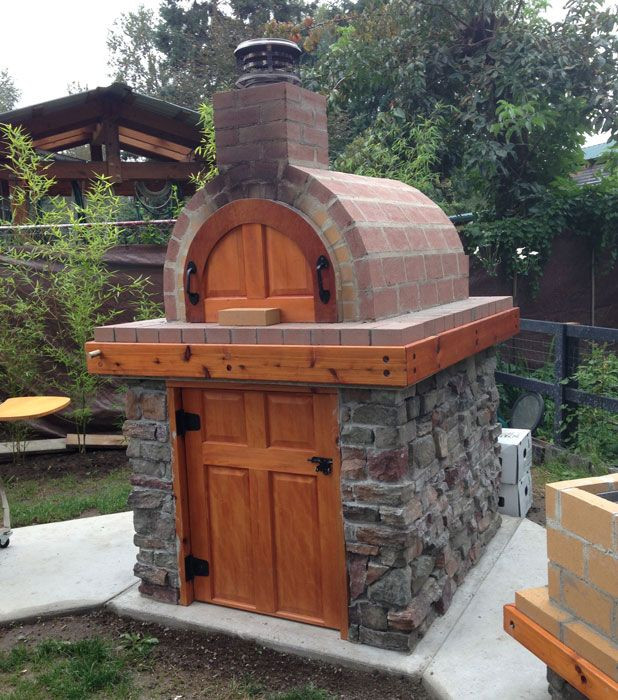 Outdoor Pizza Oven DIY  144 best Outdoor cooking and sauna images on Pinterest
