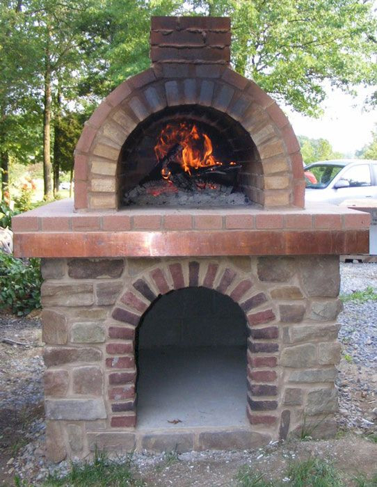 Outdoor Pizza Oven DIY  Coldsmith Wood Fired Brick Pizza Oven in Pennsylvania