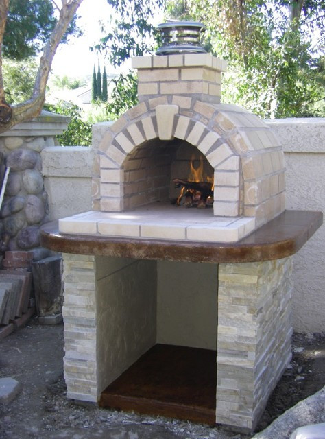 Outdoor Pizza Oven DIY  The Schlentz Family DIY Wood Fired Brick Pizza Oven by