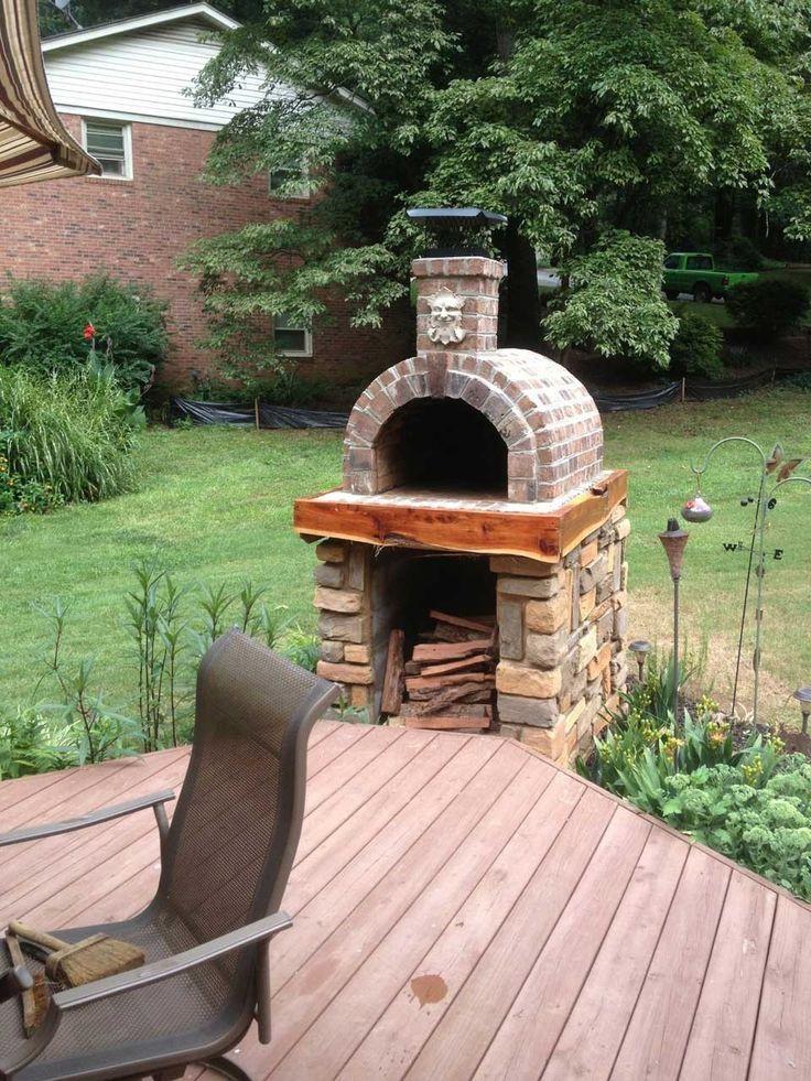 Outdoor Pizza Oven DIY  Diy Outdoor Pizza Oven Plans Home Romantic