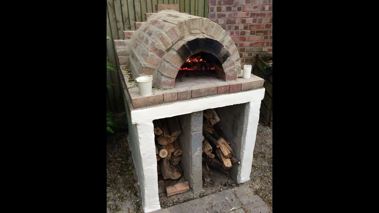 Outdoor Pizza Oven DIY  Homemade Easy Outdoor Pizza Oven DIY
