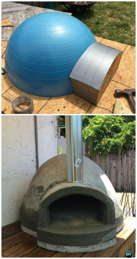 Outdoor Pizza Oven DIY  DIY Outdoor Pizza Oven Ideas & Projects Instructions