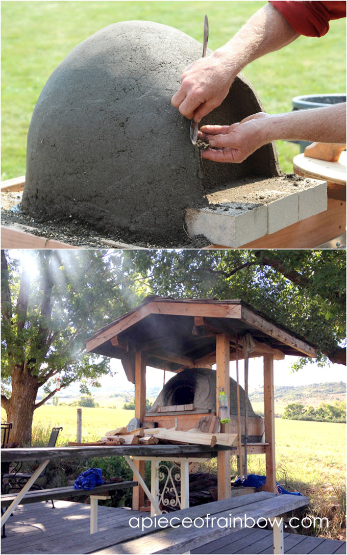 Outdoor Pizza Oven DIY  DIY Wood Fired Outdoor Pizza Oven Simple Earth Oven in 2